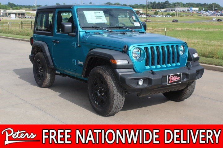 7644c7c5 New 2019 Jeep Wrangler Sport Convertible in Longview #9D927 | Peters ...