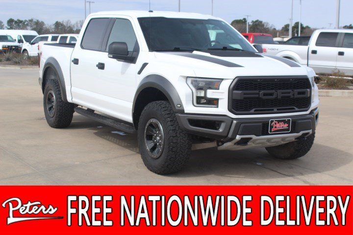 Ford Raptor Used >> Used 2018 Ford F 150 Raptor 4wd