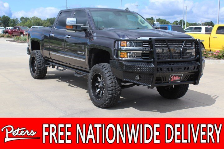 Pre Owned 2015 Chevrolet Silverado 2500hd Ltz Crew Cab In Longview