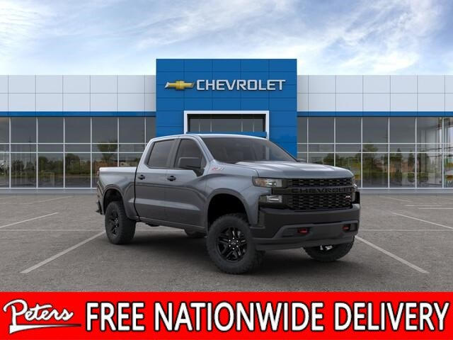 New 2019 Chevrolet Silverado 1500 Custom Trail Boss Crew Cab In