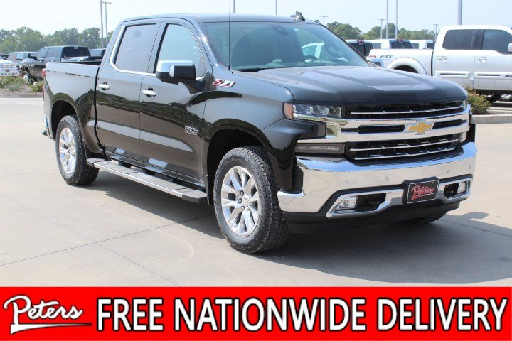 New 2019 Chevrolet Silverado 1500 Ltz Crew Cab In Longview 9c186