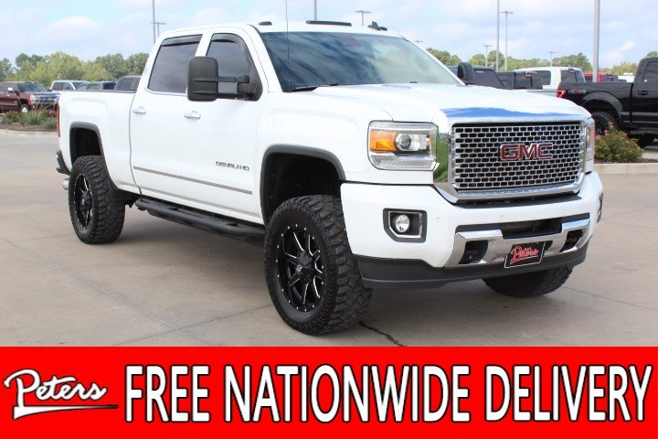 pre owned 2015 gmc sierra 2500hd denali crew cab in longview 2015 Denali HD 2500 pre owned 2015 gmc sierra 2500hd denali