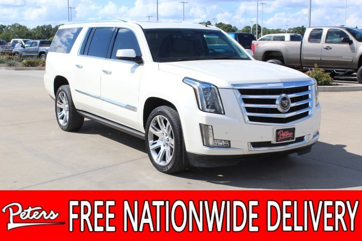Preowned 2015 Cadillac Escalade Esv Premium Suv In Longview 8165pa Rhpeterscars: 2007 Cadillac Escalade Air Ride Pressor Location On Chevy Ignition At Gmaili.net