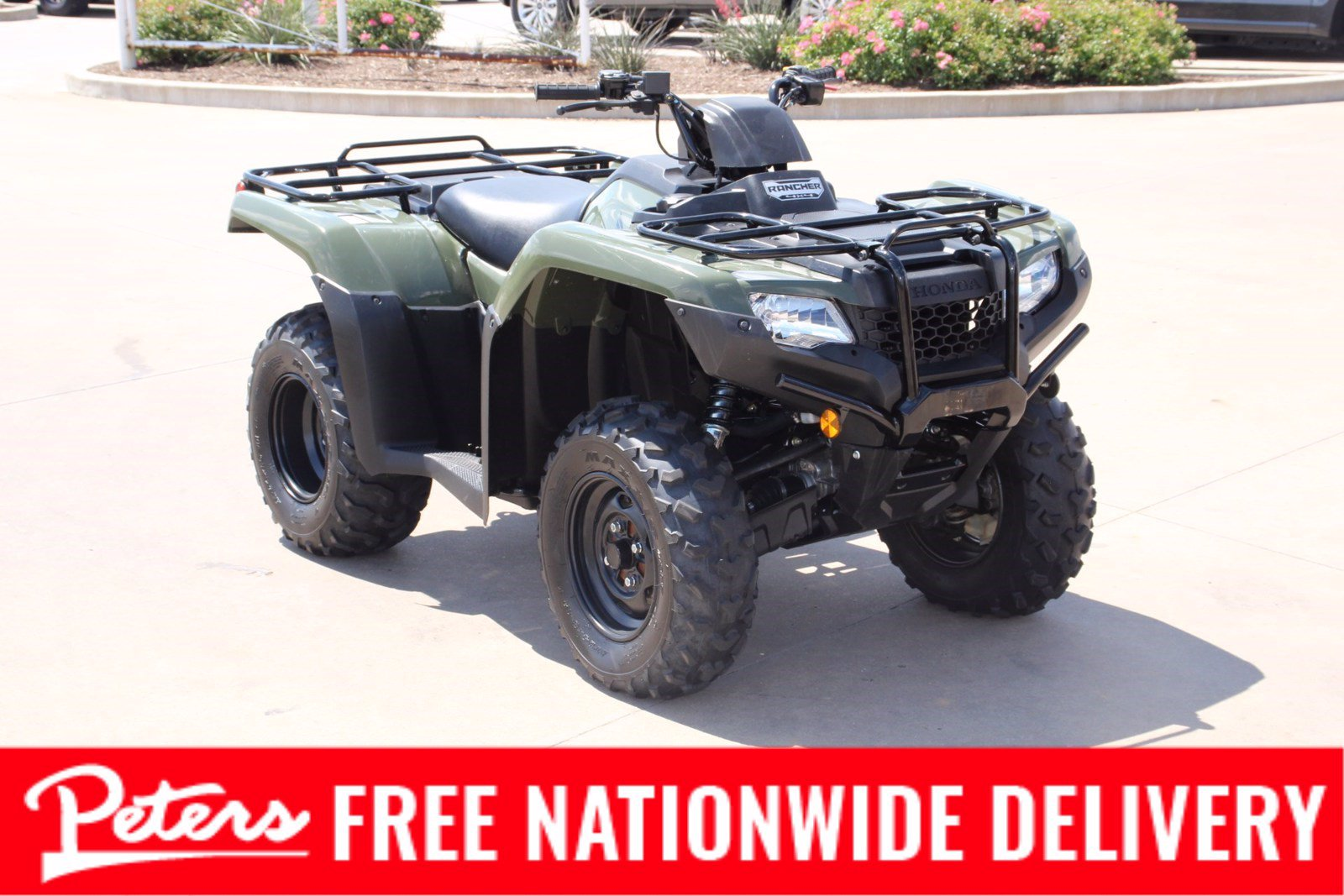 Pre-Owned 2019 Honda TRX420FM1 FOURTRAX RANCHER (4X4)