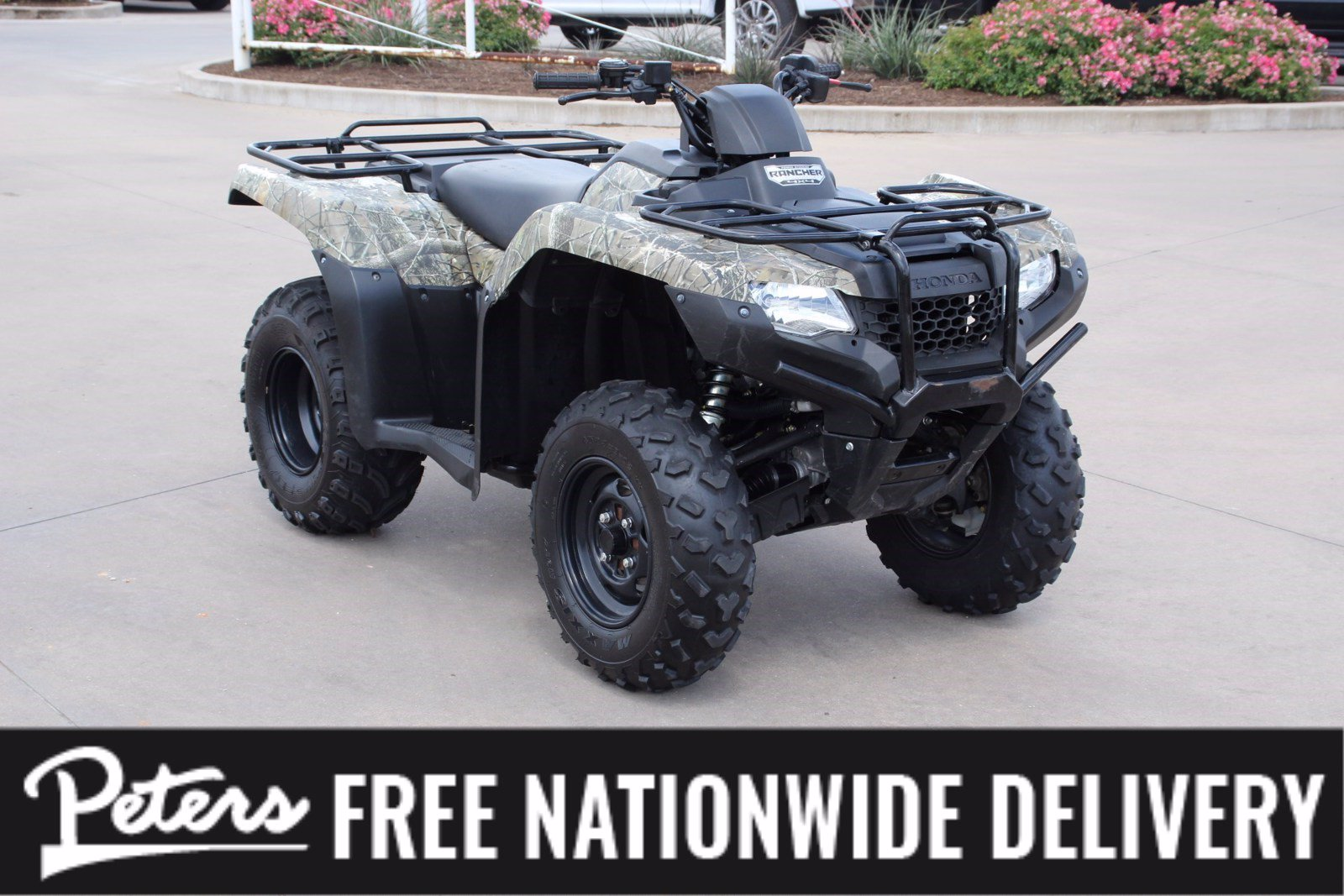 Pre-Owned 2018 Honda Fourtrax Rancher TRX 420 FA2