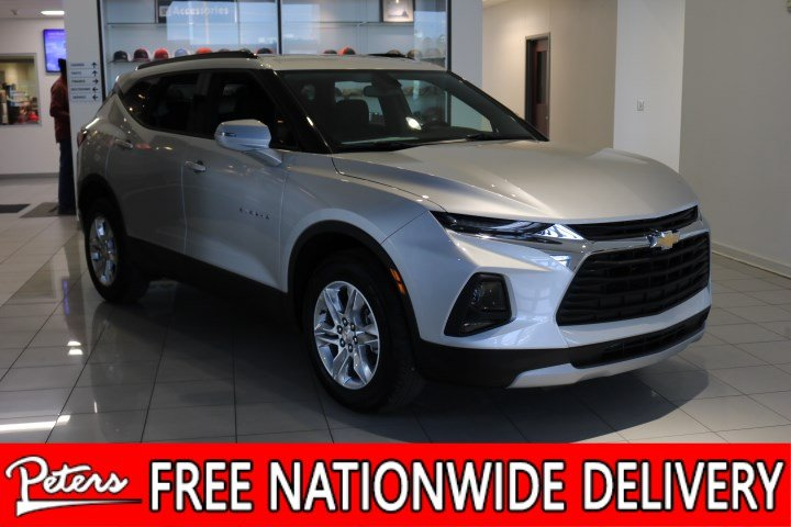 New 2019 Chevrolet Blazer Base Suv In Longview 9c686 Peters