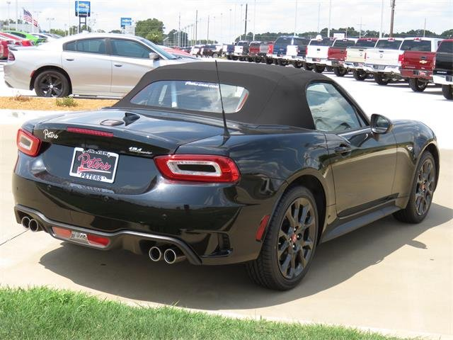 New 2019 Fiat 124 Spider Elaborazione Abarth Convertible In Longview