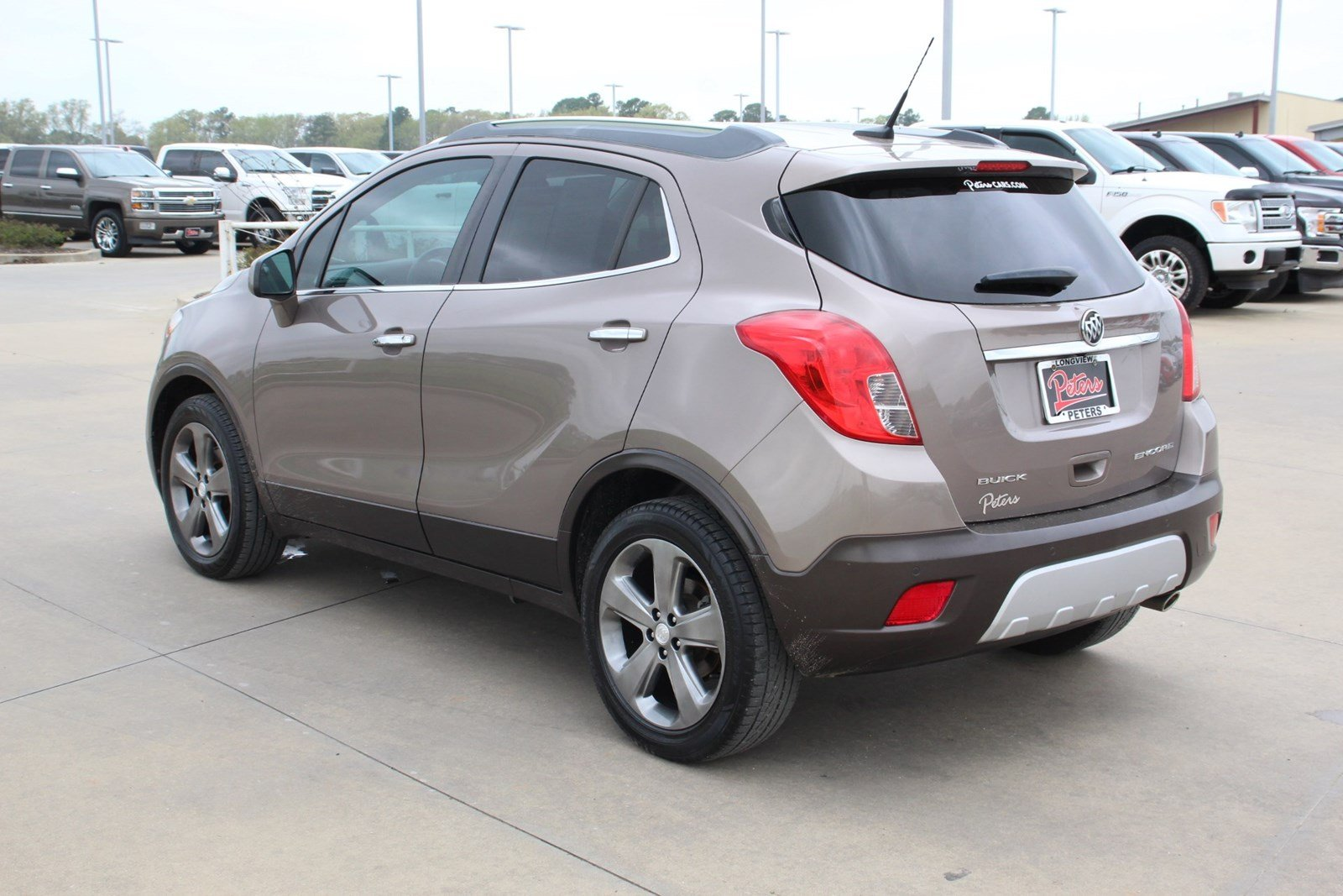 Pre-Owned 2013 Buick Encore Premium SUV in Longview ...