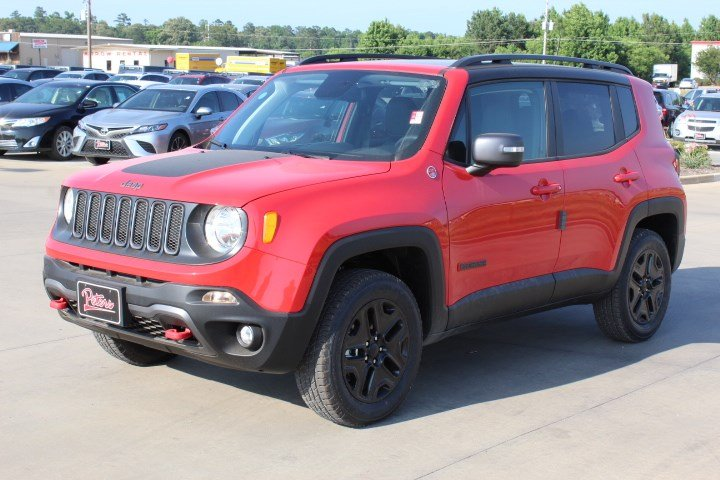 New 2018 Jeep Renegade Trailhawk SUV in Longview 8D866 ...