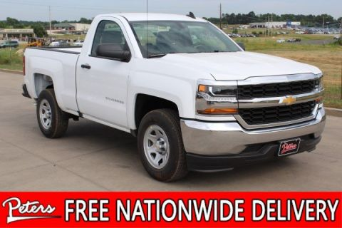 New 2018 Chevrolet Silverado 1500 Work Truck