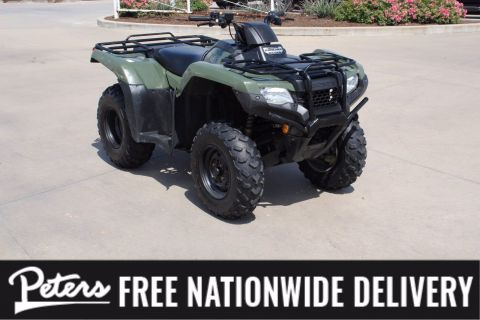 Pre-Owned 2019 Honda Fourtrax Rancher TRX 420 FM