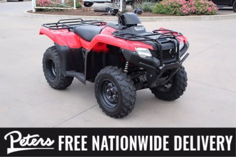 Pre-Owned 2018 Honda Fourtrax Rancher TRX 420