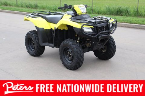 Pre-Owned 2017 Honda TRX 500 FOURTRAX FOREMAN