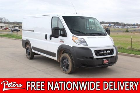 New 2019 Ram ProMaster Cargo Van Low Roof
