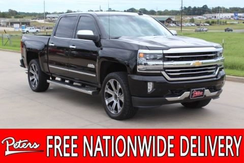 Pre Owned 2017 Chevrolet Silverado 1500 High Country Crew Cab In Longview 9c442a Peters Chrysler Jeep Dodge Ram Fiat